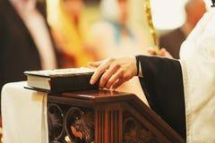 婚礼牧师 库存图片