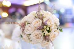婚礼玫瑰花束 免版税库存图片