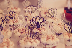 婚礼甜点 免版税库存照片