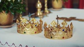 婚礼的教会属性 金冠在教会里 影视素材