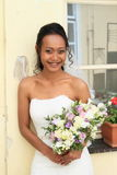 婚礼的新娘 库存照片