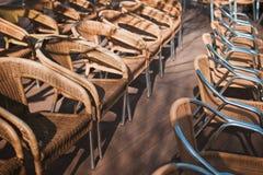 婚礼的椅子 免版税库存图片