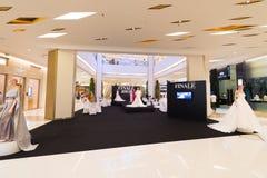 婚礼礼服商店,泰国模范购物中心,曼谷 库存图片