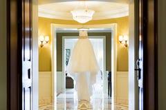 婚礼礼服 免版税库存图片