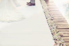 婚礼空间 库存照片