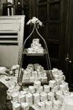 婚礼糖果,美丽和典雅 免版税库存照片
