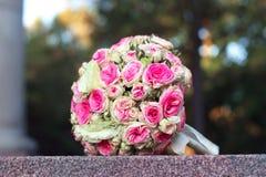 婚礼花束 库存照片