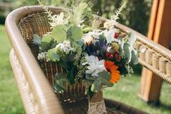 婚礼花束HD 库存图片