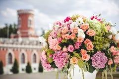 婚礼花的装饰 免版税图库摄影