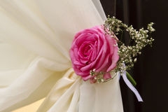 婚礼花装饰 免版税库存照片