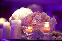 婚礼表 库存照片