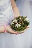 婚礼装饰圆环 免版税图库摄影