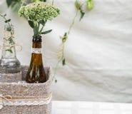 婚礼装饰瓶 库存图片