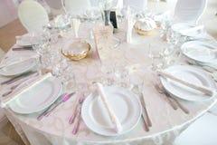 婚礼装饰细节  免版税库存图片