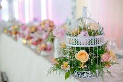 婚礼装饰细节  免版税库存照片