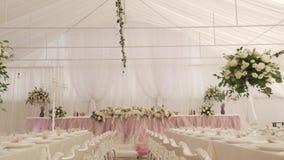 婚礼装饰,棒棒糖,装饰,细节 股票视频