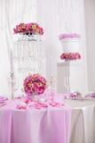 婚礼装饰 免版税库存图片