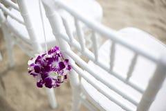 婚礼设置 免版税库存照片