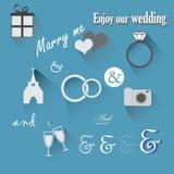 婚礼象 免版税库存图片