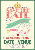 婚礼邀请印刷术 免版税库存图片