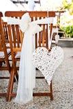 婚礼重点装饰 免版税库存照片