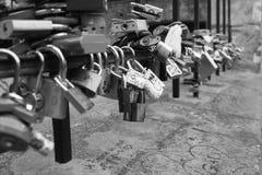 婚礼锁 免版税图库摄影
