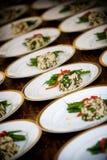 婚礼食物 库存图片