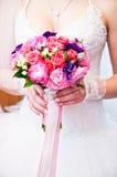 婚礼bouq 免版税库存照片