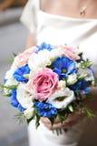 婚礼BOUQET 免版税库存图片