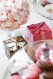 婚礼Giftbox 图库摄影