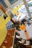 结婚宴会地点 免版税库存图片