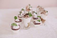 结婚宴会食物 图库摄影