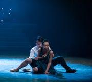 婚姻分歧现代舞蹈 免版税库存照片
