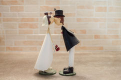 婚姻厚待bonbonniere的配偶 库存图片