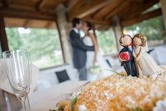 婚宴喜饼 库存图片