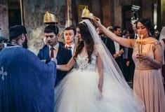 婚姻在乔治亚 库存图片