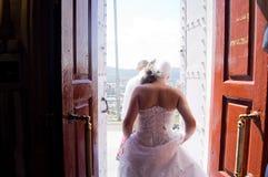 婚姻在西伯利亚 免版税库存照片