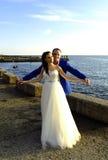 婚姻在12月 库存图片