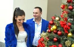 婚姻在12月 免版税图库摄影
