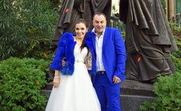 婚姻在12月 免版税库存图片