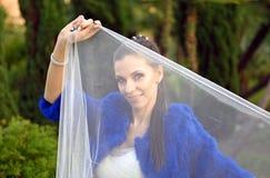 婚姻在12月 库存照片