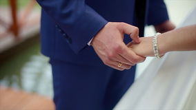 婚姻拿着手夫妇 股票录像