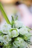 婚姻的人造花花束 免版税库存照片
