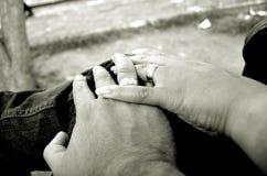 婚姻的圆环 免版税库存照片