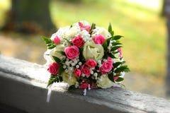 婚姻的新娘花束-储蓄图象 免版税库存照片