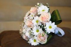 婚姻的新娘花束-储蓄图象 免版税库存图片
