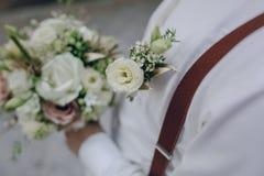 婚姻的新郎HD 免版税库存图片
