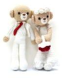 婚姻的熊 免版税库存图片