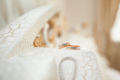 婚姻的环形二 免版税库存图片