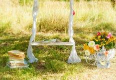 婚姻的装饰材料 库存图片